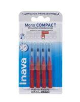 Inava Brossettes Mono-compact Rouge Iso 4 1,5mm à Serris