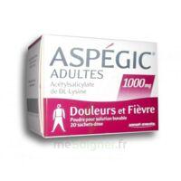 Aspegic Adultes 1000 Mg, Poudre Pour Solution Buvable En Sachet-dose 20 à Serris