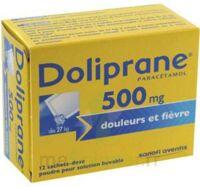 Doliprane 500 Mg Poudre Pour Solution Buvable En Sachet-dose B/12 à Serris