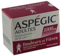 Aspegic Adultes 1000 Mg, Poudre Pour Solution Buvable En Sachet-dose 15 à Serris