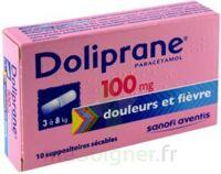 Doliprane 100 Mg Suppositoires Sécables 2plq/5 (10) à Serris