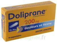 Doliprane 200 Mg Suppositoires 2plq/5 (10) à Serris