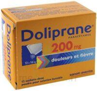 Doliprane 200 Mg Poudre Pour Solution Buvable En Sachet-dose B/12 à Serris