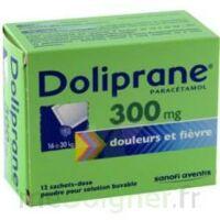 Doliprane 300 Mg Poudre Pour Solution Buvable En Sachet-dose B/12 à Serris