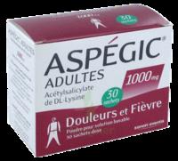 Aspegic Adultes 1000 Mg, Poudre Pour Solution Buvable En Sachet-dose 30 à Serris