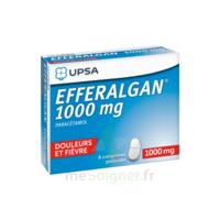 Efferalgan 1000 Mg Comprimés Pelliculés Plq/8 à Serris