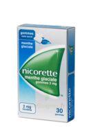 Nicorette 2 Mg Gom à Mâcher Médic Sans Sucre Menthe Glaciale Plq/30gom à Serris
