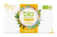 Nutrisanté Infusions Bio Tisane Régulation Des Sucres 20 Sachets à Serris