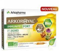 Arkoroyal Immunité Fort Solution Buvable 20 Ampoules/10ml à Serris