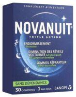 Novanuit Triple Action Comprimés B/30 à Serris