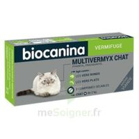 Biocanina Multivermyx Comprimés Vermifuge Chat B/2 à Serris