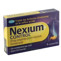 Nexium Control 20 Mg Cpr Gastro-rés Plq/7 à Serris