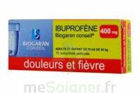 Ibuprofene Biogaran Conseil 400 Mg, Comprimé Pelliculé à Serris