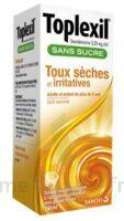 Toplexil 0,33 Mg/ml Sans Sucre Solution Buvable 150ml à Serris