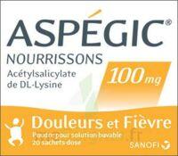 Aspegic Nourrissons 100 Mg, Poudre Pour Solution Buvable En Sachet-dose à Serris