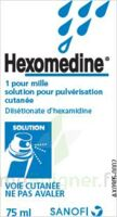 Hexomedine 1 Pour Mille, Solution Pour Pulvérisation Cutanée En Flacon Pressurisé à Serris