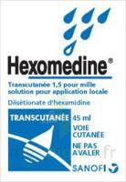 Hexomedine Transcutanee 1,5 Pour Mille, Solution Pour Application Locale à Serris