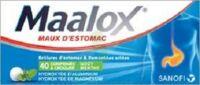 Maalox Hydroxyde D'aluminium/hydroxyde De Magnesium 400 Mg/400 Mg Cpr à Croquer Maux D'estomac Plq/40 à Serris
