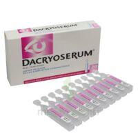 Dacryoserum Solution Pour Lavage Ophtalmique En Récipient Unidose 20unidoses/5ml à Serris