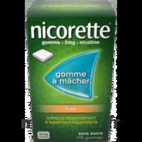 Nicorette 2 Mg Gomme à Mâcher Médicamenteuse Sans Sucre Fruits Plq/30 à Serris