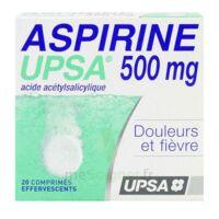 Aspirine Upsa 500 Mg, Comprimé Effervescent à Serris