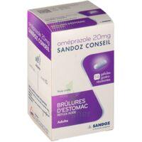 Omeprazole Sandoz Conseil 20 Mg Gél Gastro-rés Plq/7 à Serris