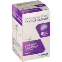 Omeprazole Sandoz Conseil 20 Mg Gél Gastro-rés Plq/14 à Serris