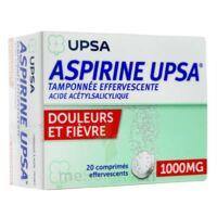 Aspirine Upsa Tamponnee Effervescente 1000 Mg, Comprimé Effervescent à Serris