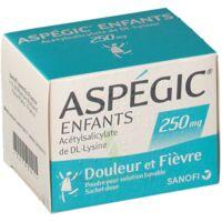 Aspegic Enfants 250, Poudre Pour Solution Buvable En Sachet-dose à Serris