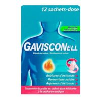 Gavisconell Suspension Buvable Sachet-dose Menthe Sans Sucre 12sach/10ml à Serris