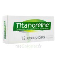 Titanoreine Suppositoires B/12 à Serris