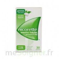 Nicorette 4 Mg Gom à Mâcher Médic Sans Sucre Menthe Fraîche Plq/30gom à Serris