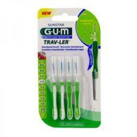 Gum Trav - Ler, 1,1 Mm, Manche Vert , Blister 4 à Serris