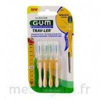 Gum Trav - Ler, 1,3 Mm, Manche Jaune , Blister 4 à Serris