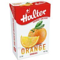 Halter Bonbon Sans Sucre Orange 40g à Serris