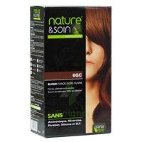 Nature & Soin Kit Coloration 6gc Blond Foncé Doré Cuivré à Serris
