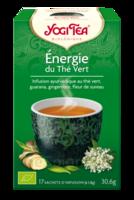 Yogi Tea Thé Energie Du Thé Vert Bio 17 Sachets/1,8g à Serris