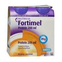 Fortimel Protein Nutriment Caramel 4 Bouteilles/200ml à Serris