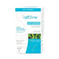 Netline Crème Visage/corps Décolorante Peau Sensible 30+30ml à Serris