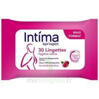 Intima Gyn'expert Lingettes Cranberry Paquet/30 à Serris