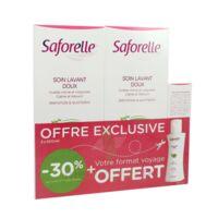 Saforelle Solution Soin Lavant Doux 2*500ml+100ml à Serris