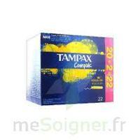Tampax Compak - Tampon Régulier à Serris