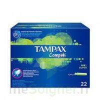Tampax Compak - Tampon Super à Serris