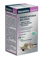 Biocanina Recharge Pour Diffuseur Anti-stress Chat 45ml à Serris
