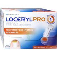 Locerylpro 5 % V Ongles Médicamenteux Fl/2,5ml+spatule+30 Limes+lingettes à Serris