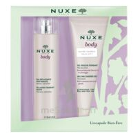 Nuxe Body Eau Délassante Parfumante Spray/100ml+gel Douche à Serris