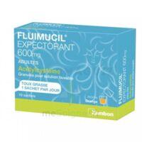 Fluimucil Expectorant Acetylcysteine 600 Mg Glé S Buv Adultes 10sach à Serris