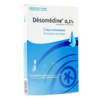 Desomedine 0,1 % Collyre Sol 10fl/0,6ml à Serris