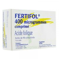 Fertifol 400 µg Cpr Plq/90 à Serris
