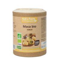 Nat&form Eco Responsable Maca Bio Gélules B/200 à Serris
